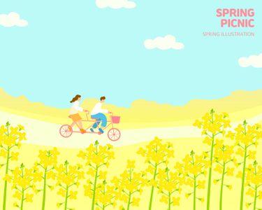 일러스트-봄-계절일러스트-봄일러스트-꽃