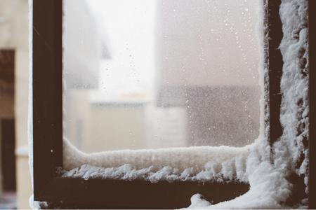 눈-snow-겨울-눈사람-창문