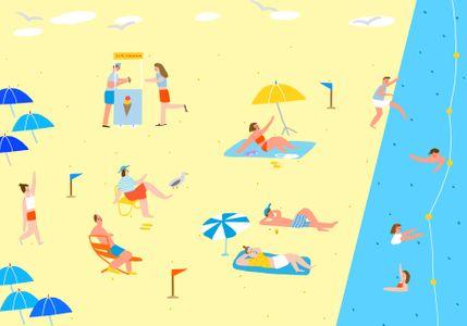 해변-바다여행-바다-여행-피크닉