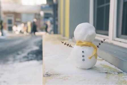 눈사람-눈-겨울-장식-장식품