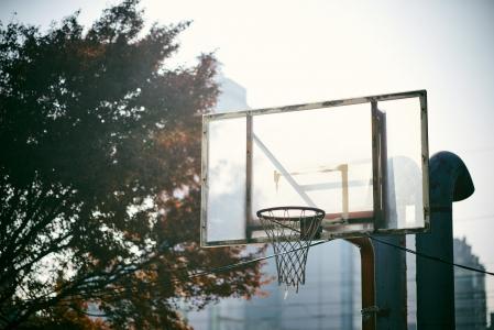 농구대-농구골대-골대-코트-햇빛
