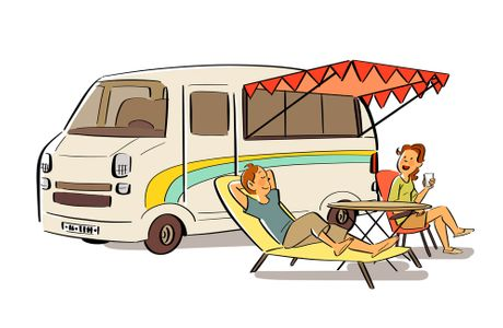 캠핑-여름-캠핑카-여행-글램핑