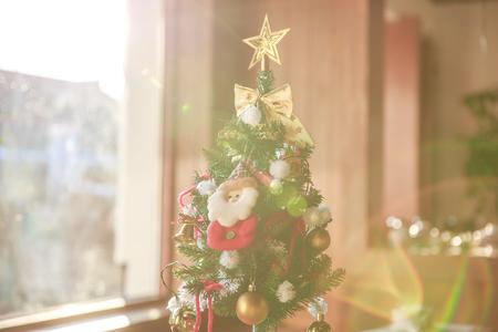 크리스마스-트리-산타클로스-종-빛