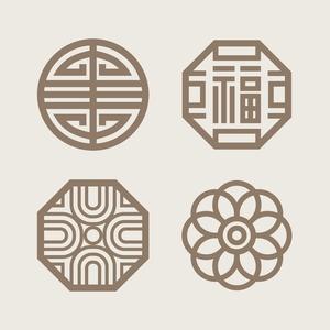전통문양-전통-배경-한국-패턴