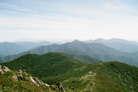 자연-산-산맥-한국의산맥-풍경