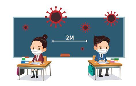 사회적거리-학생-학교-코로나-바이러스