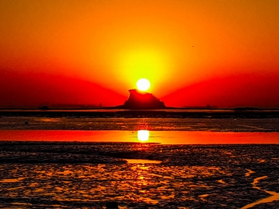 일출-새해일출-인천시-영종도-샤크섬