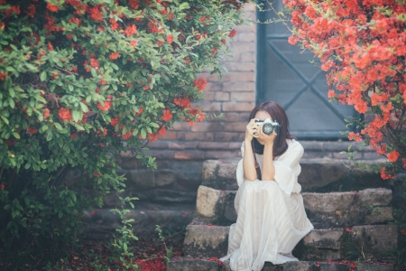 소녀-필름카메라-감성-모델-인물